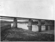 MP-0000.1828.16 | Intercolonial Railway bridge at Rimouski, QC, 1875 | Photograph | Alexander Henderson |  |
