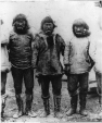 MP-0000.1966.2 | Inuit men at the Arctic Ocean, NT(?), 1897 | Photograph | G. P. Phillips |  |