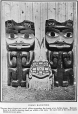 MP-0000.2007.2 | Haida carvings and dress, copied from book, about 1900 | Photograph | Anonyme - Anonymous |  |