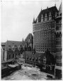 MP-0000.2080.1 | New tower (back), Chateau Frontenac, Quebec City, QC, 1925 | Photograph | Sydney Jack Hayward |  | 