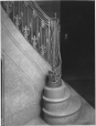 MP-0000.2080.10 | Newel post, staircase, Chateau Frontenac, Quebec City, QC, 1925 | Photograph | Sydney Jack Hayward |  | 