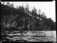 MP-0000.2141.6 | Rock paintings near tip of Fairy Point, Lake Missinabie, ON, 1930 | Photograph | Edwin Tappan Adney |  |