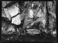 MP-0000.2141.10 | Rock face at water's edge, Fairy Point, Lake Missinabie, ON, 1930 | Photograph | Edwin Tappan Adney |  |