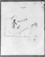 MP-0000.2141.24 | Fairy Point rock paintings, Lake Missinabie, ON, 1930 | Drawing | Edwin Tappan Adney |  |
