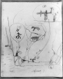 MP-0000.2141.26 | Diagram, paintings on rock face, Fairy Point, Lake Missinabie, ON, 1930 | Drawing | Edwin Tappan Adney |  |