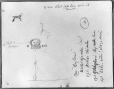 MP-0000.2141.31   Rock paintings, mouth of  White Falls River, ON, 1930   Drawing   Edwin Tappan Adney     