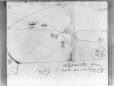 MP-0000.2141.38 | Rock paintings, Missinabie Lake vicinity, ON, 1930 | Drawing | Edwin Tappan Adney |  |