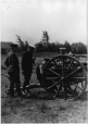 MP-0000.2221.1 | Officers and men with cannon, Valcartier, QC, 1914-18 | Photograph | James Dennison |  |
