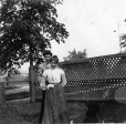MP-0000.2360.104 | Two women and dog, Peterborough(?), ON(?), about 1900 | Photograph |  |  |