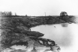 MP-0000.2400.60 | Earth slide at St. Emmanuel Road, Soulanges Canal section 8, QC, 1898 | Photograph | C. H. Puihey |  |