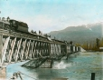 MP-0000.25.1006 | Wooden bridge at Revelstoke, BC, about 1886 | Photograph | Anonyme - Anonymous |  |