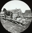 MP-0000.25.1044 | Horse drawn sled, transporting barrels, about 1880 | Photograph | Anonyme - Anonymous |  |