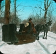 MP-0000.25.1046 | Horse drawn sleigh, about 1910 | Photograph | Edward H. Kemp |  |