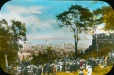MP-0000.25.1054 | Crowd on Mount Royal watching the R-100 dirigible, Montreal, QC, 1930 | Photograph | Anonyme - Anonymous |  |