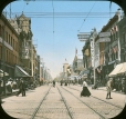 MP-0000.25.179   Yonge Street looking north from Queen Street, Toronto, ON, about 1890   Photograph   Anonyme - Anonymous     