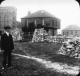 MP-0000.25.196 | Old Hudson's Bay Company blockhouse, Sault Ste. Marie, ON, about 1910 | Photograph | Anonyme - Anonymous |  |