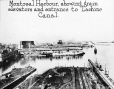 MP-0000.25.211 | Harbour, grain elevators and Lachine Canal entrance, Montreal, QC, about 1930 | Photograph | Sydney Jack Hayward |  |