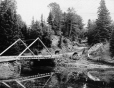 MP-0000.25.367 | Trout stream and bridge, PE, about 1900 | Photograph | Anonyme - Anonymous |  |