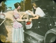 MP-0000.25.450 | Selling cherries by the roadside, ON, about 1932 | Photograph | Anonyme - Anonymous |  |