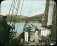 MP-0000.25.46 | Schooner deck, about 1900 | Photograph | Anonyme - Anonymous |  |