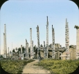 MP-0000.25.512 | Totem poles and houses, BC, about 1910 | Photograph | Anonyme - Anonymous |  |