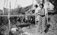 MP-0000.25.540 | Women drying moose meat, English River, ON, about 1925 | Photograph | Anonyme - Anonymous |  |