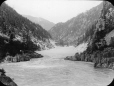 MP-0000.25.625 | Hell's Gate, canyon du fleuve Fraser, C.-B., vers 1907 | Photographie | Anonyme - Anonymous |  |