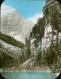 MP-0000.25.679 | Cliff at upper end of Lake Louise, AB, about 1910 | Photograph | Anonyme - Anonymous |  |