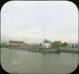 MP-0000.25.69 | Whaleback No. 134 in locks, Sault St. Marie, ON, about 1890 | Photograph | James Ricalton |  |