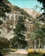 MP-0000.25.692 | Mont Bertha et route automobile, Parc national des lacs Waterton , Alb., vers 1930 | Photographie | Anonyme - Anonymous |  |