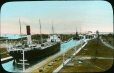 MP-0000.25.70 | Freighters in locks, Sault St. Marie(?), ON, about 1914 | Photograph | Anonyme - Anonymous |  |