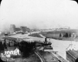 MP-0000.25.845 | Grain ships and elevators on the Kaministiquia River, Fort William, ON, 1925 | Photograph | Fryer |  |