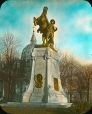 MP-0000.25.922   Strathcona South African War Monument, Dominion Square, Montreal, QC, 1907   Photograph   Herbert Wallis     