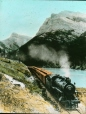 MP-0000.25.975 | Train at Gap entrance, Canadian Rockies, about 1930 | Photograph | Anonyme - Anonymous |  |