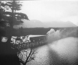 MP-0000.25.988   Railway trestle over Codroy River, NF, about 1900   Photograph   Anonyme - Anonymous     