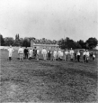MP-0000.2897 | Montreal Lacrosse Club on Phillips field, Montreal, QC, about 1870 | Photograph | James George Parks |  |