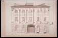 M3286 | David Ross' House (before 1812) West End, Champ de Mars, Montreal | Drawing | Henry Richard S. Bunnett |  |