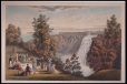 M5522 | The Falls of Montmorency, (Quebec in the distance) | Print | James Pattison Cockburn (1779-1847) |  |