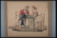 M9997 | Two figures seated at table | Painting | Anonyme - Anonymous |  |