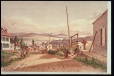 M17260 | Modern Street View of Point Levi, and Quebec in the distance | Print | James Duncan (1806-1881) |  |