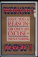 M24608.3 | Have you a reason or only an excuse for not enlisting, 1914-18 | Poster | Anonyme - Anonymous |  | 