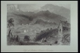 M958.73.2.26   Pass of Bolton, Eastern Townships   Print   William Henry Bartlett (1809-1854)     