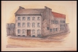 M980.184.1.51 | Police Head Quarters | Painting | John Hugh Ross |  |