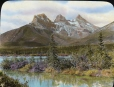 MP-0000.158.82 | Le mont Three Sisters, Canmore, Alb., vers 1923 | Photographie | Anonyme - Anonymous |  |