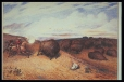 M463 | Coming of the Buffalo | Painting | William George Richardson Hind |  |