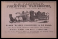 M2001X.6.56.519 | C. E. Pariseau, Furniture Warerooms | Print | John Henry Walker (1831-1899) |  |