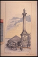 M980.184.1.90 | Nelsons Monument. | Painting | John Hugh Ross |  |