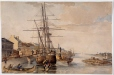 M303 | The Port of Montreal, 1830 | Painting | Robert Auchmuty Sproule (1799-1845) |  |