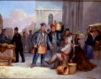 M316 | Bonsecours Market Scene in Winter | Painting | James Duncan (1806-1881) |  |