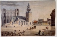 M385 | The Place d'Armes, Montreal, QC, 1828 | Painting | Robert Auchmuty Sproule (1799-1845) |  |